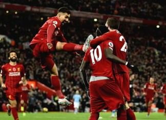 Liverpool vs Man City Photos