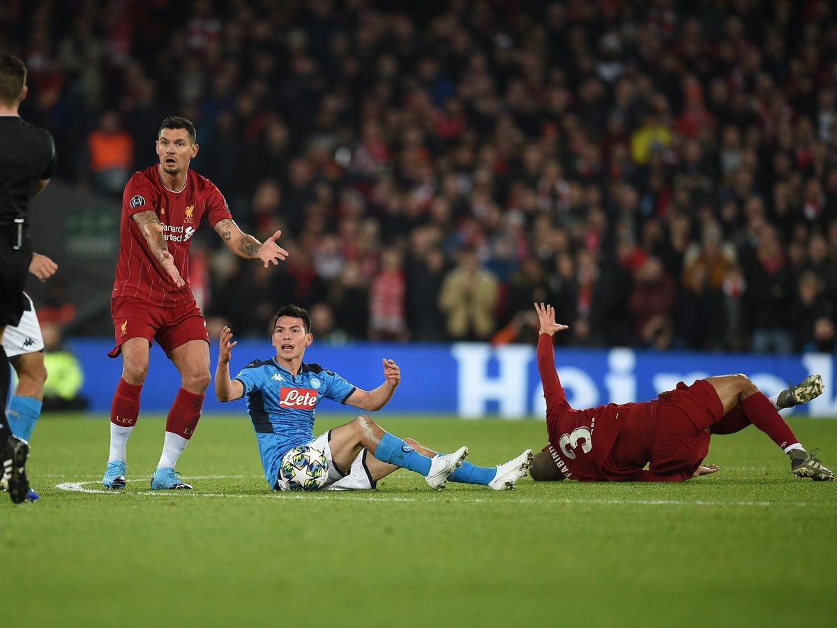 Huge blow for Liverpool as Fabinho set to miss 14 games with ankle ligament damage