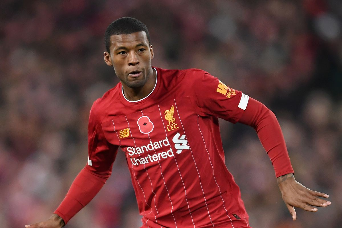 Gini Wijnaldum included in Liverpool's 20-man Club World Cup squad