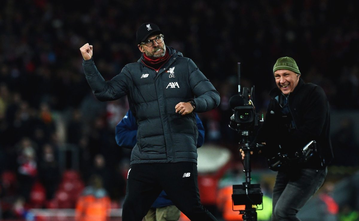 Watch: Klopp & Guardiola react to Liverpool's 3-1 win over Man City