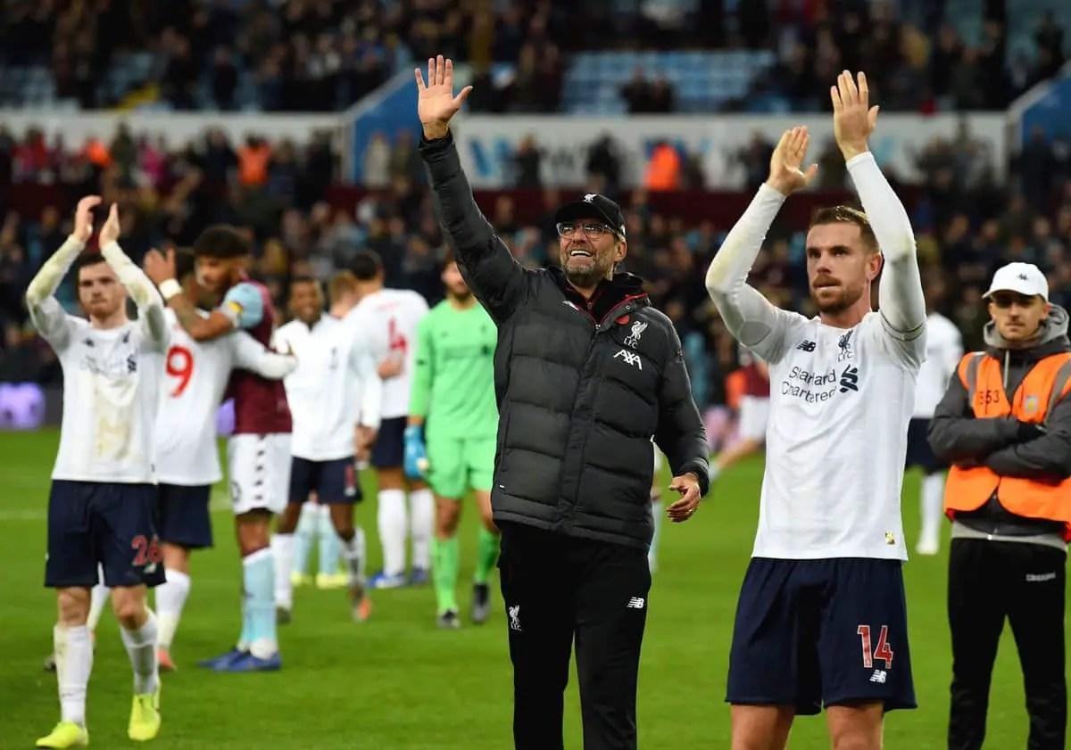 Jurgen Klopp unimpressed with VAR's involvement in Aston Villa win