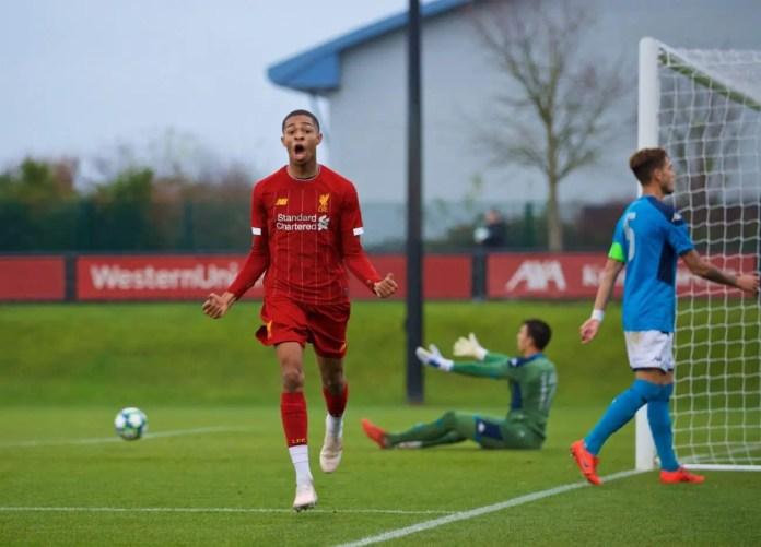Liverpool U19 vs Napoli U19