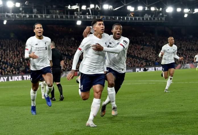 Liverpool 2-1 Crystal Palace