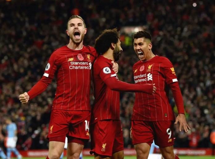 Liverpool vs Man City Goals
