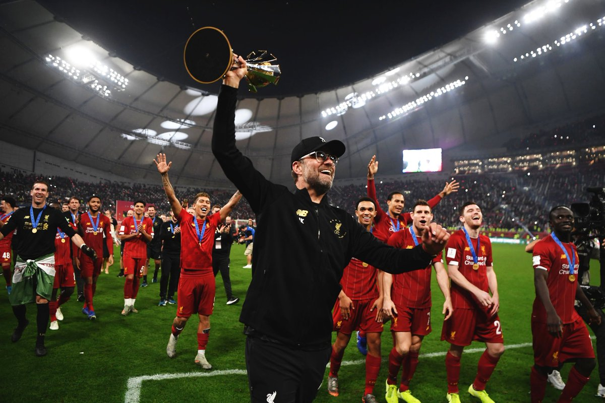 "Jurgen Klopp ecstatic after ""sensational"" Liverpool triumph in Club World Cup"