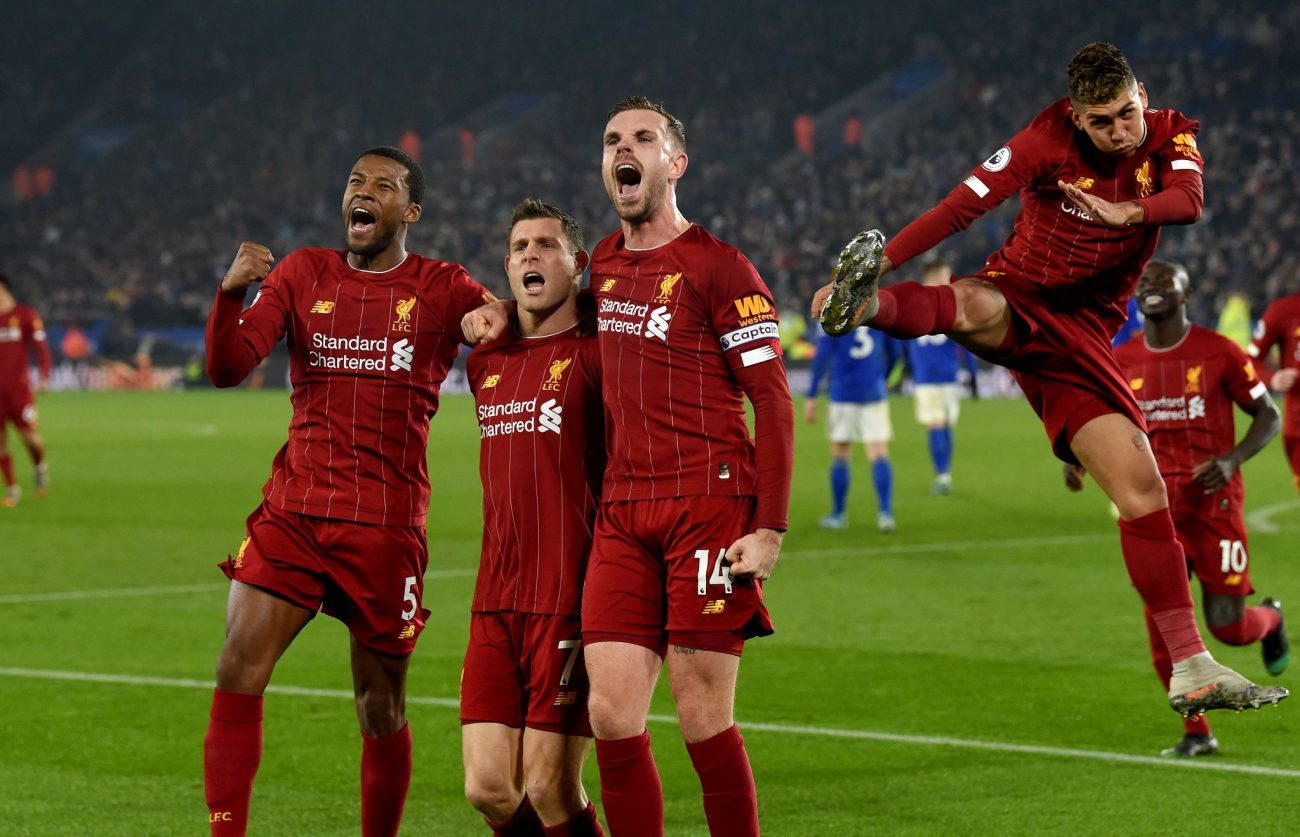 All the best photos as Liverpool thrash Leicester to go 13 points clear
