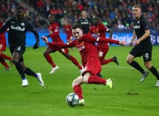 Salzburg vs Liverpool Stream