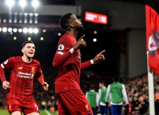 Divock Origi - Liverpool vs Everton