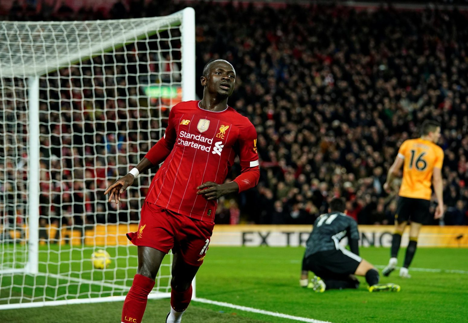 Liverpool 1-0 Wolves – Highlights: Mane scores as Reds march on (Video)