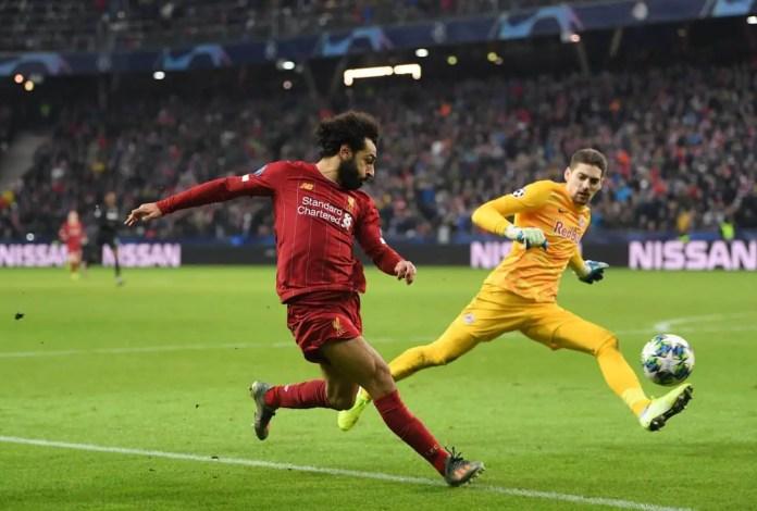 Salah Goal vs Salzburg