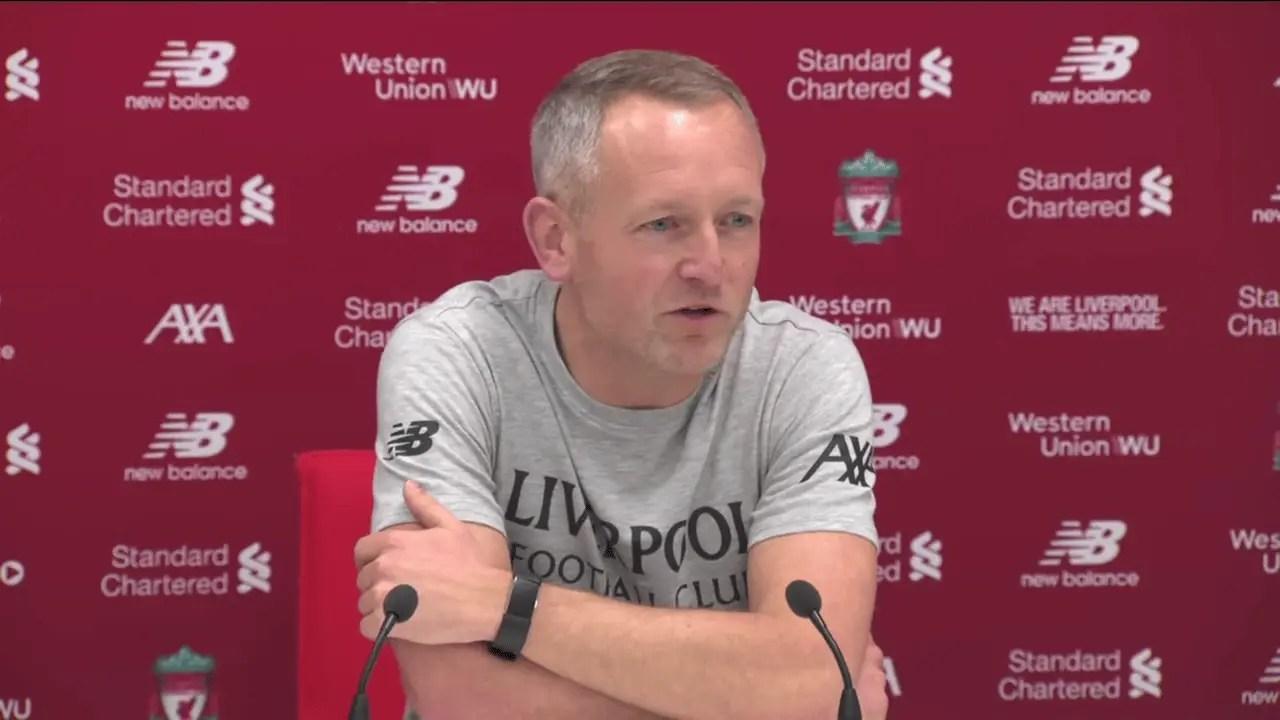 Watch: Neil Critchley previews Liverpool's Carabao Cup clash vs Aston Villa