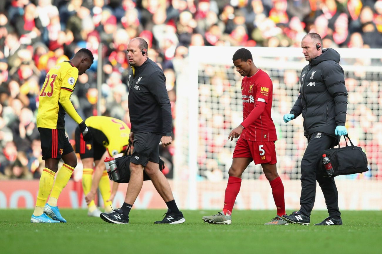 Gini Wijnaldum doubtful for Club World Cup due to muscle injury