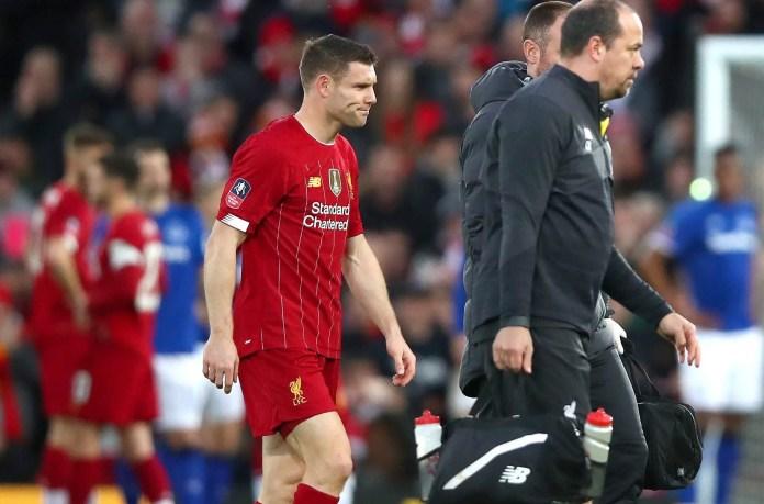 James Milner Injury vs Everton