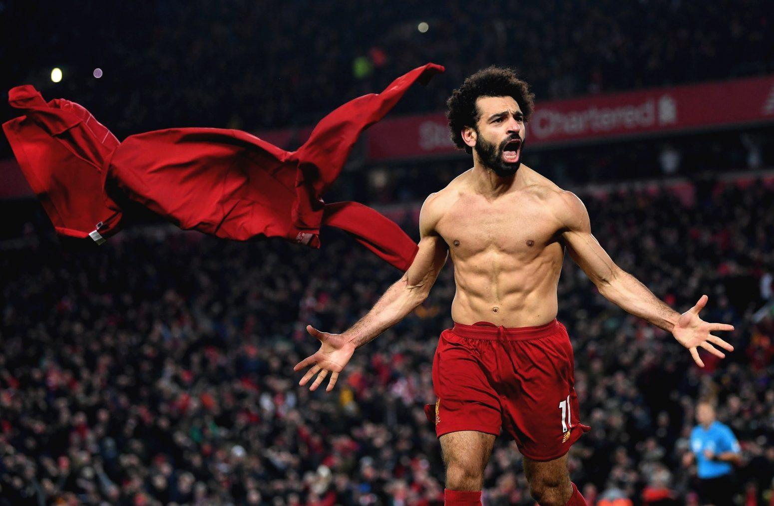 The best photos as Liverpool beat Manchester United to continue Premier League march