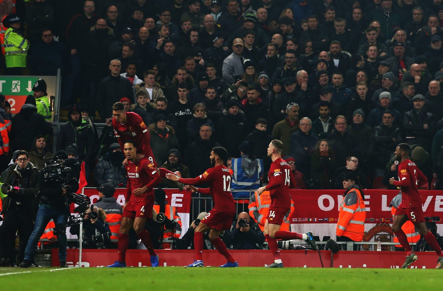Liverpool 2-0 Man United – As it happened & reaction