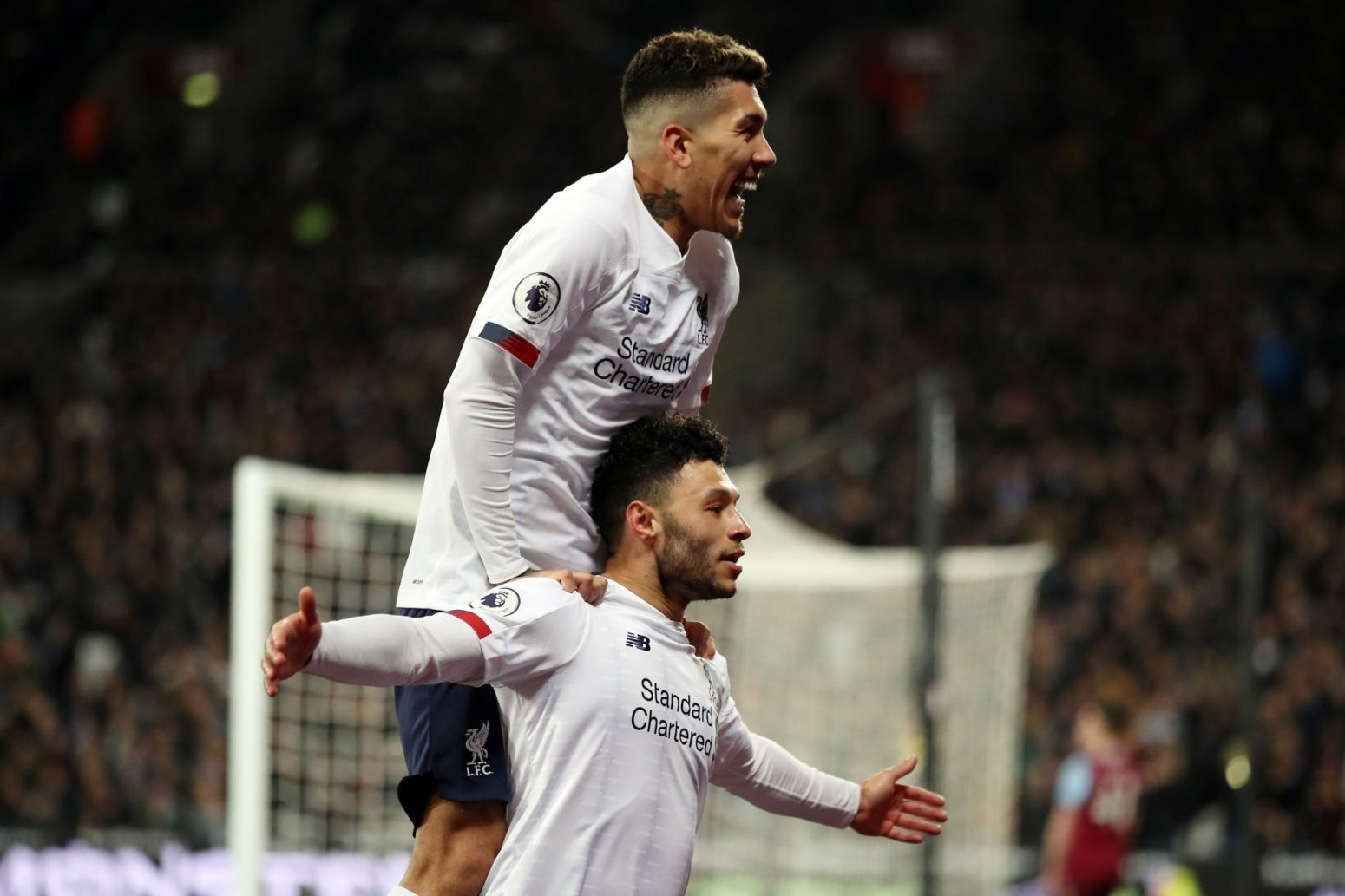 The best photos from London as Liverpool reach 70-point mark with West Ham win