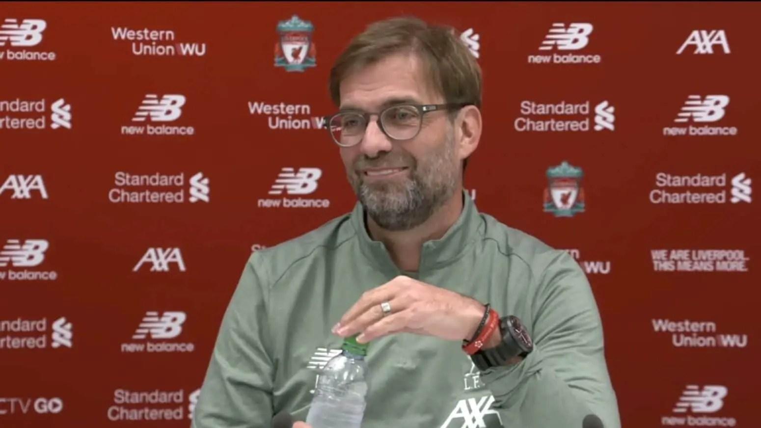 Watch Jurgen Klopp's pre-match press conference – Norwich vs Liverpool