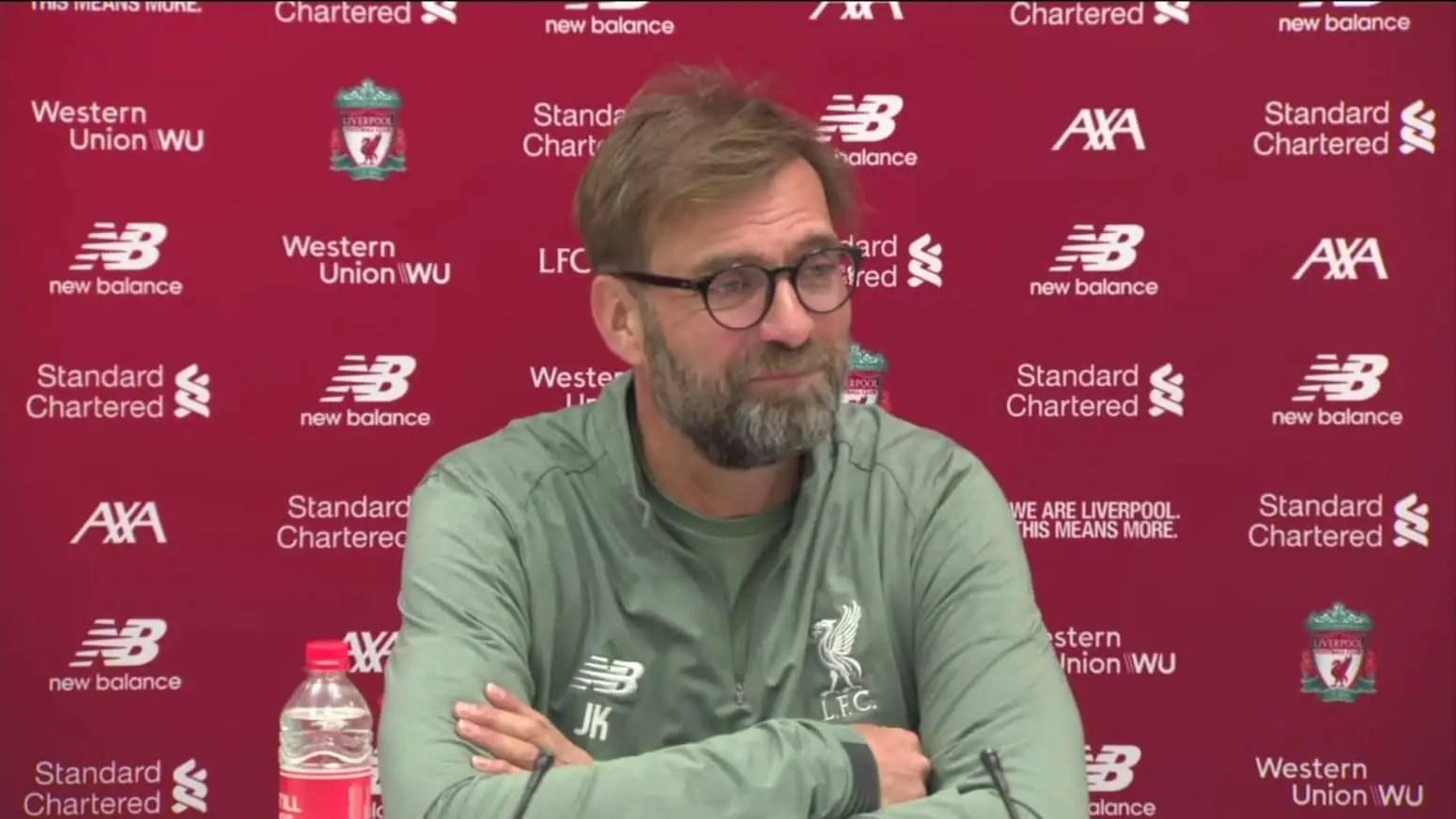 Watch: Jurgen Klopp's pre-match press conference – Watford vs Liverpool