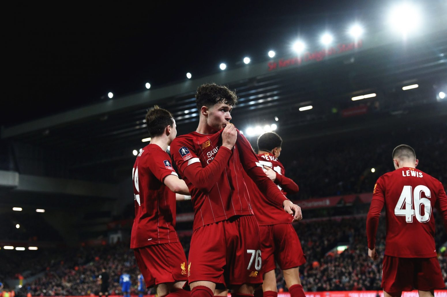 Youngest ever Liverpool side defeats Shrewsbury in FA Cup