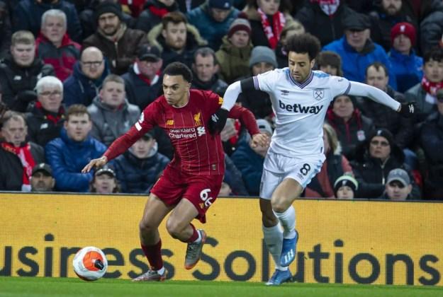 Trent Alexander-Arnold vs West Ham