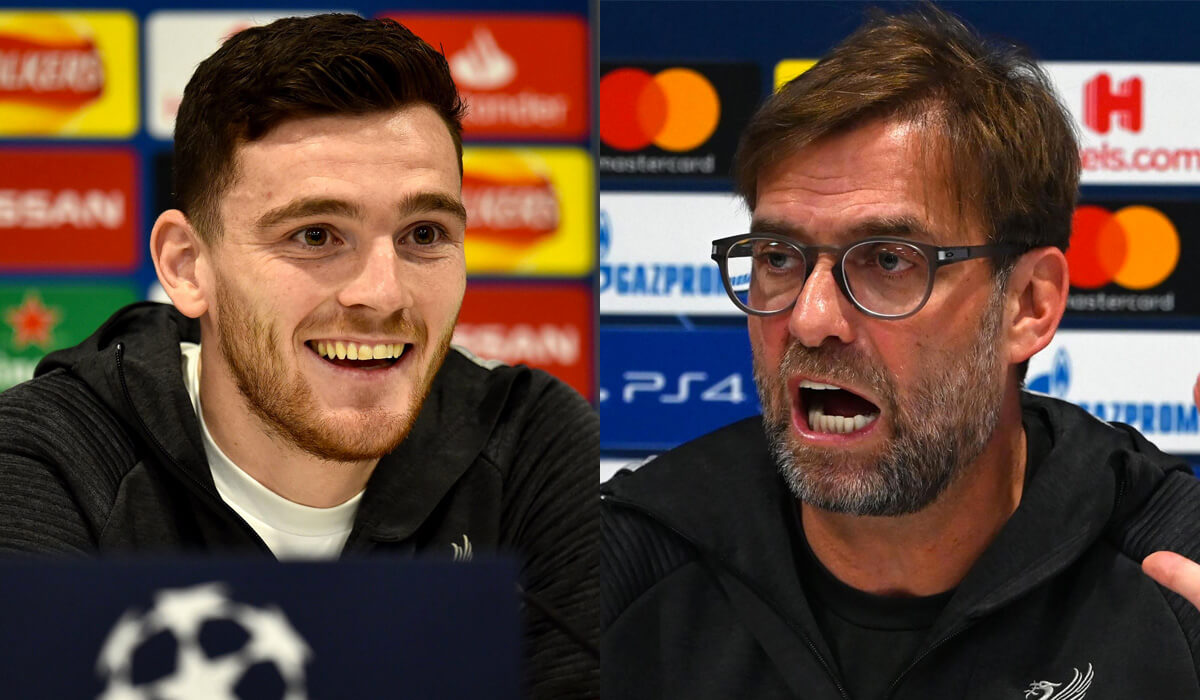 Andy Robertson's Comments After First Atletico Madrid Game Clearly Backfired