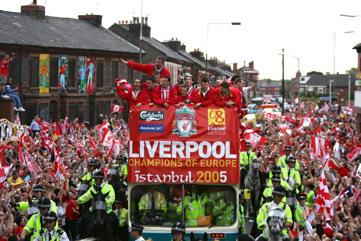 Watch: Fantastic throwback to Istanbul victory celebrations in the streets of Liverpool