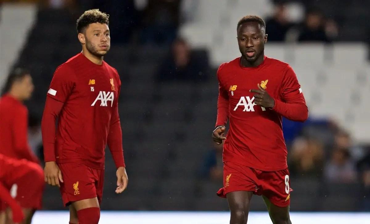 Jurgen Klopp explains Naby Keita omission in favour of Alex Oxlade-Chamberlain against Arsenal