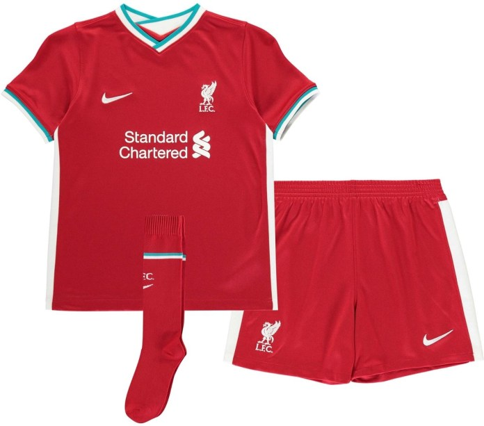 Liverpool 2020-21 Junior Home Kit
