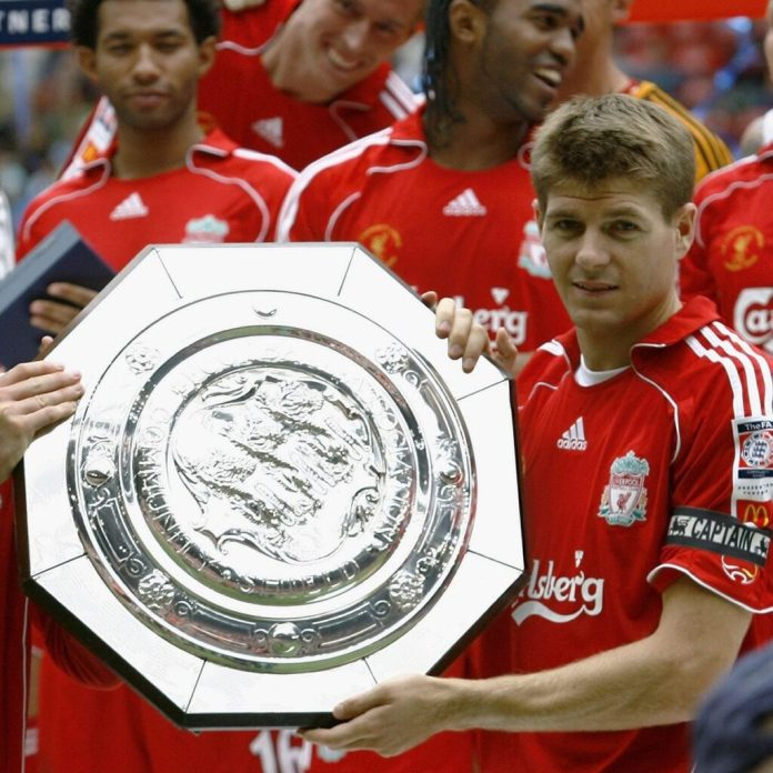 Liverpool Community Shield Trophies