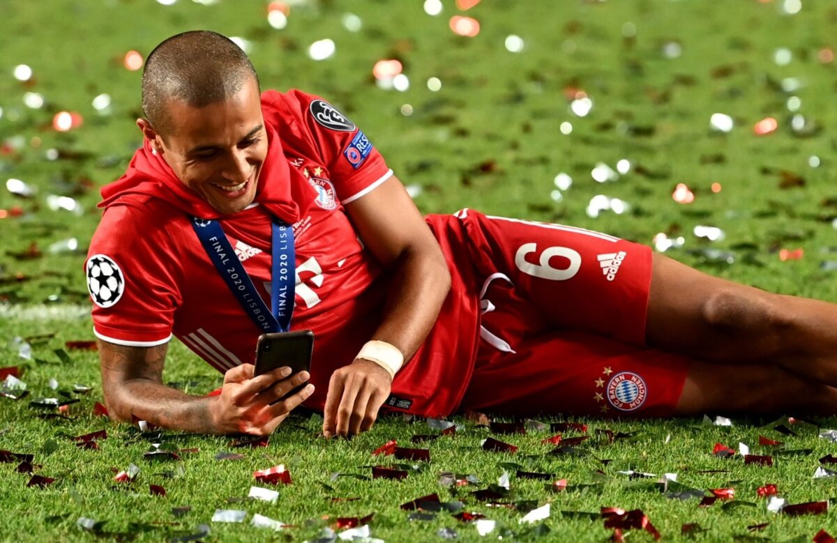 Liverpool closing in on the capture of Thiago