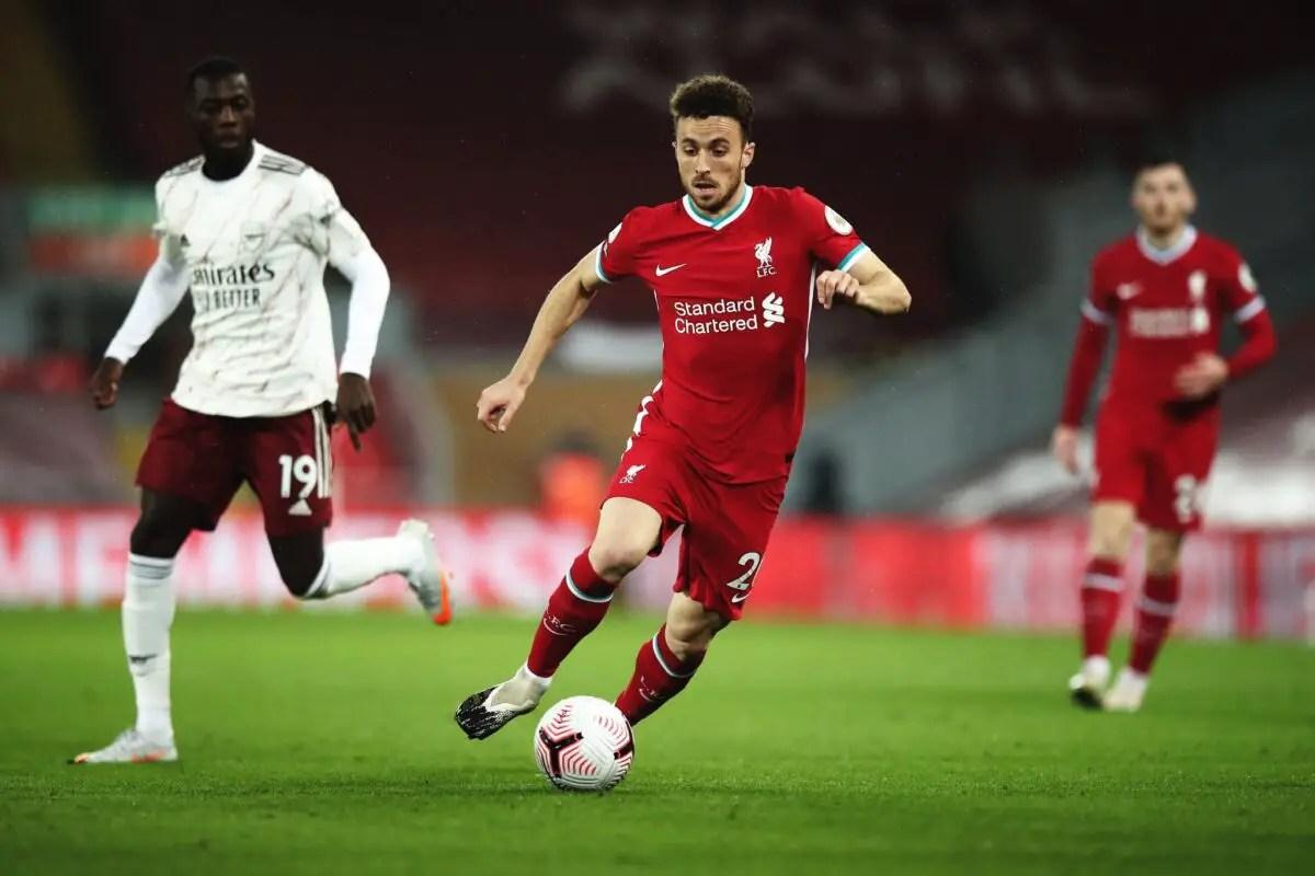 Confirmed Liverpool team vs Arsenal – Nine changes as Wilson & Jota start