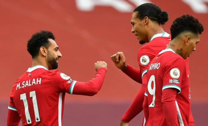 Salah, Van Dijk, Firmino - Liverpool vs Leeds