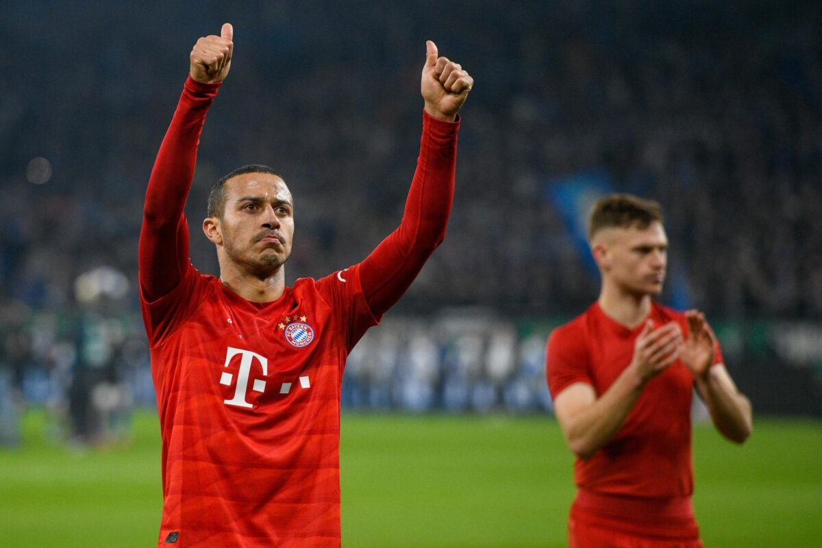 Liverpool agree four-year deal for Thiago Alcantara – with initial fee of just £20m