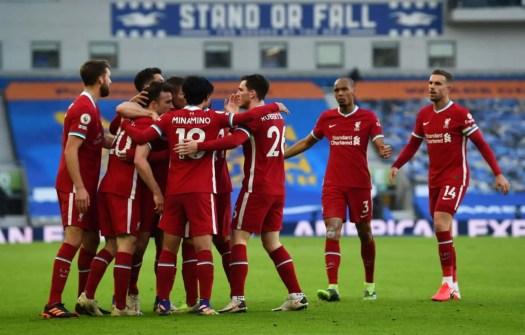 Video: Brighton 1-1 Liverpool - Watch the goals ...