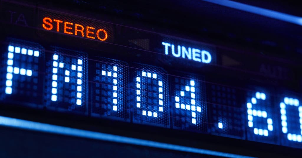 What is a radio station format?