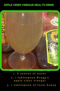Apple Cider Vinegar health drink recipe