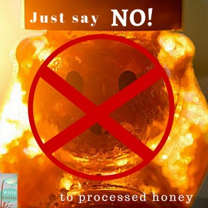raw honey is better than processed