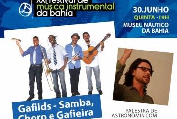Samba, choro e gafieira agitam o Festival de Música Instrumental da Bahia