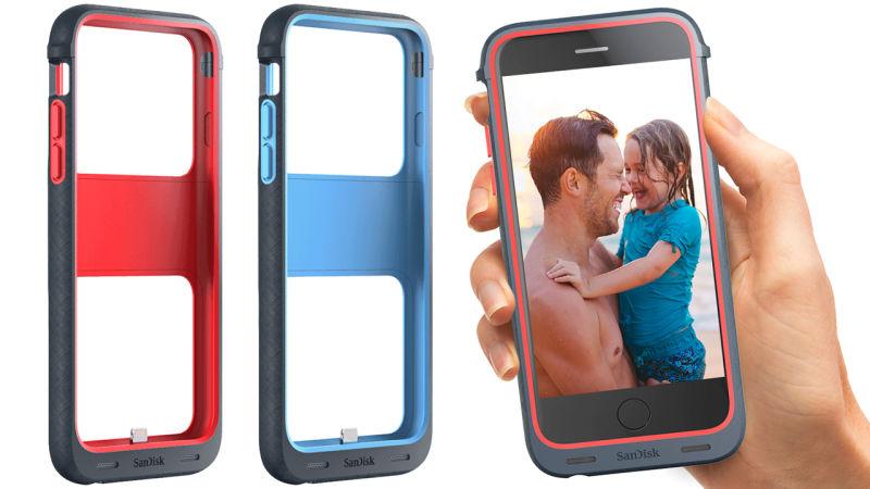 Capa para iPhone da SanDisk aumenta memória e bateria do celular