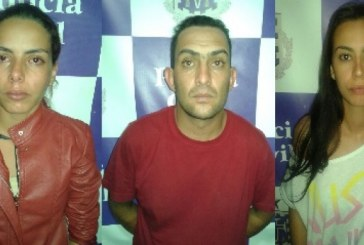 Trio é preso acusado de estelionato no município de Tucano