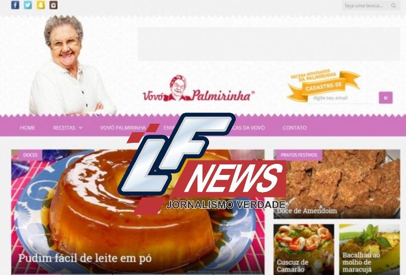 Palmirinha estreia novo site com receitas inéditas