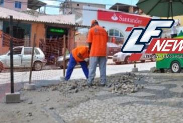 Programa Calçada Livre existe em Lauro de Freitas com o objetivo normatizar o uso dos passeios