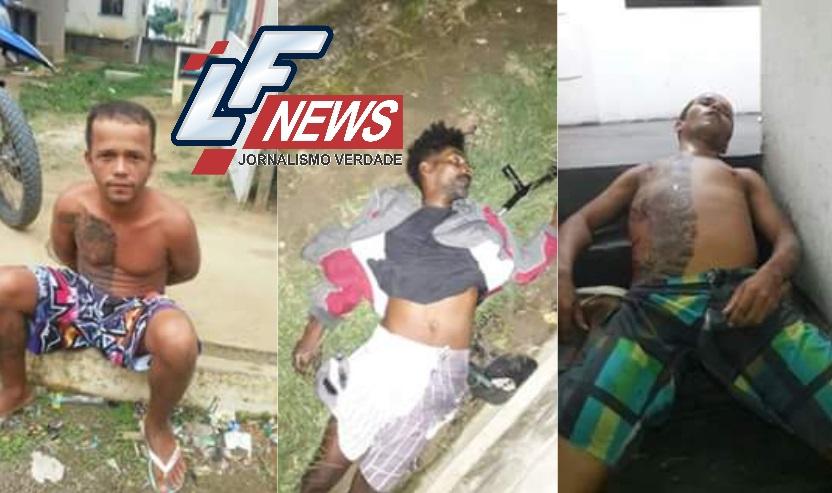 Guerra do Trafico: homens armados invadem residencial matam dois e deixa dois rivais feridos