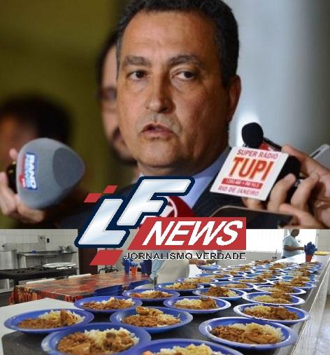 Rui Costa gasta quase três vezes mais alimentando os presos do que com refeição de policiais