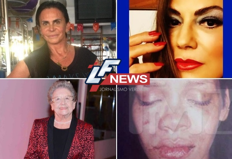 Veja as famosas que já foram vítimas de agressões