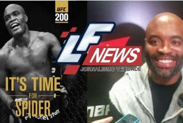 Anderson Silva será substituto de Jon Jones no UFC 200