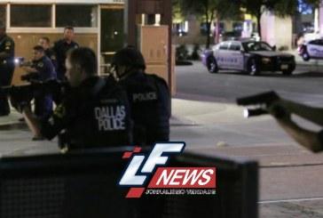 Atiradores matam 4 policiais e ferem 7 em protesto racial