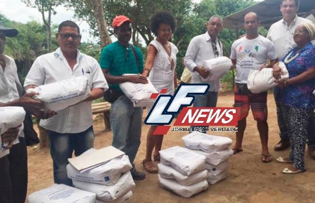 Comunidade quilombola é beneficiada com 220 quilos de sementes