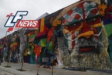 Mural gigante de Eduardo Kobra será parte do legado cultural da Rio 2016