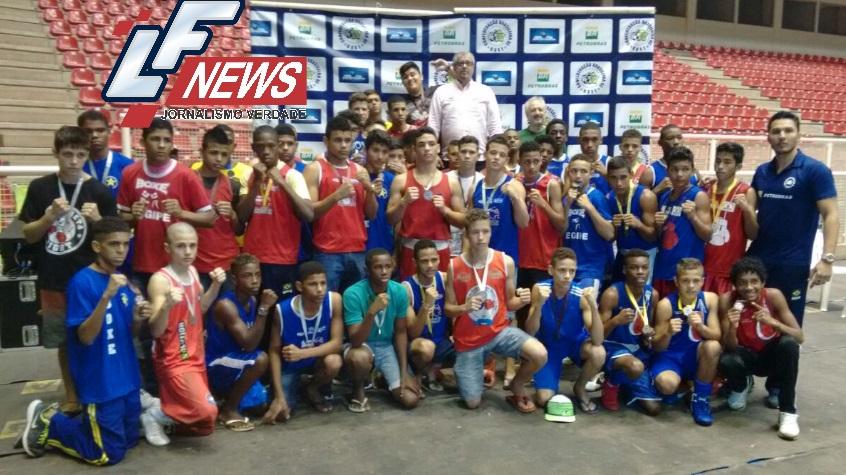 Boxe baiano conquista 44 medalhas no Campeonato Brasileiro